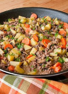 Low FODMAP & Gluten free Recipe - Minced beef & potato stew http://www.ibssano.com/low_fodmap_recipe_minced_beef_potato_stew.html