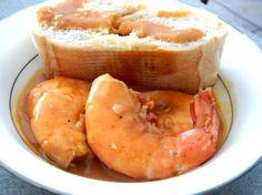 Bread Dippin', Finger Lickin' BBQ Shrimp! This sauce is out of this world!