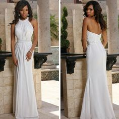 This informal #Davincibridal gown is so classy and chic!