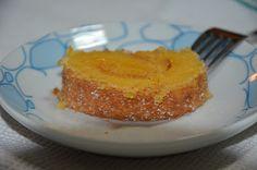 Torta de amendoa e laranja