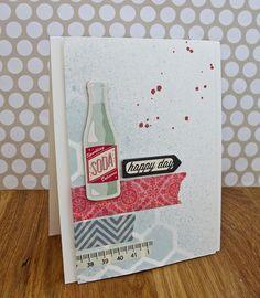 Soda by Cards by Rachel @ www.seizethestamp.blogspot.com, via Flickr