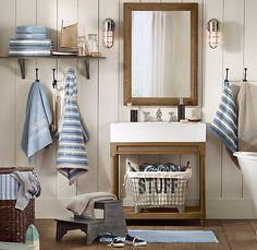 Una excelente idea para organizar las toallas de tu bebé