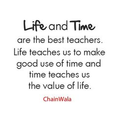 Life and Time....