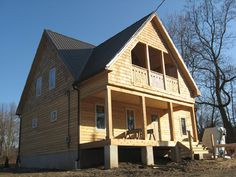 Never Seen A Straw Bale With Wood Exterior. AKRON STRAW BALE HOUSE: In Ms