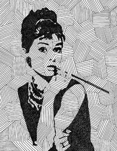 Holly Golightly on your wall.