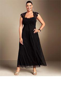 Sara Lace Trim Maxi Dress