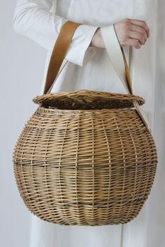 Egg - Rosa Mosa Large Basket Bag