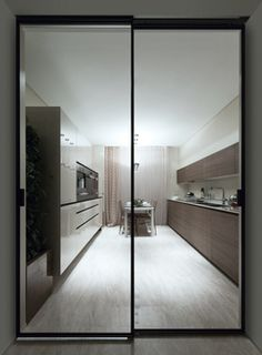 Marina Palas | Apartments Rimadesio: sliding doors systems, living area, complements, doors, walk-in closet