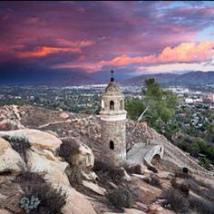 View from the top of Mt. Rubidoux. It's a really nice hike!