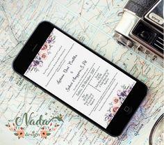 undangan pernikahan online simple putih
