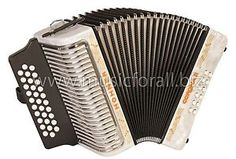 NEW Hohner Corona II 3500AW Tex-Mex Tejano Norteno Accordion with Gig Bag, Straps, and Instructional Book - Key ADG, White - Free Ship to USA - Cheap Worldwide Shipping! http://stores.ebay.com/music-for-all-03   http://www.musicforall.biz/