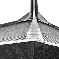 North Christian Church, Eero Saarinen   photo by Hadley Fruits, Exhibit Columbus