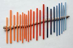 Wood Wall Art Driftwood Art 'Spinal Drift II' от BigFabDesigns