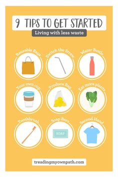 Not sure how to go plastic free? Here's 9 things you can swap out! Pro tip: keep in mind that reducing plastic pollution is about… Plastic Free July, Green Living Tips, Green Tips, Plastic Pollution, Plastic Waste, Plastic Plastic, Save Our Earth, Reduce Reuse Recycle, Zero Waste