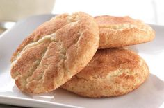 Crispy, chewy, and cinnamon-scented, these classic cookies are fast and easy when made with our gluten-free baking mix. Gluten Free Vanilla Cake, Gluten Free Baking Mix, Gluten Free Cookies, Gluten Free Desserts, Gluten Free Recipes, Flour Recipes, Gf Recipes, Recipies, Dessert Recipes