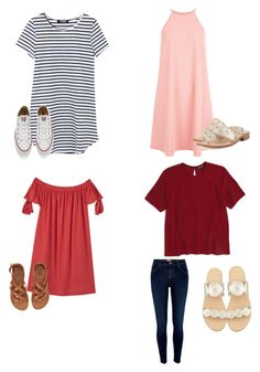 """""""Untitled #7"""" by amypavon on Polyvore featuring MANGO, New Look, Topshop, River Island, Converse, Jack Rogers and Billabong"""
