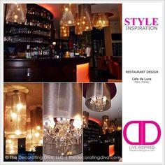 Exquisite Lighting: Paris Cafe Creates Mood with Decorative Elements | The Decorating Diva, LLC