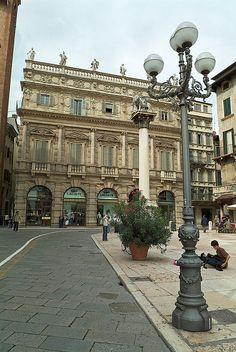 Piazza delle Erbe - Verona, Italy