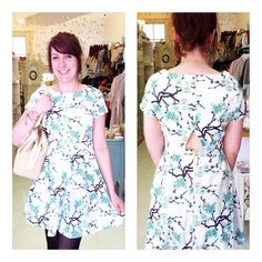 A beautiful floral summers dress by louche.
