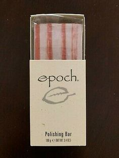 This polishing bar can remove dirt, excess oil and impurities without the use of soap. It is Safety-Allergy-Dermatologist Tested. Snail White, Skin Products, Pure Products, Nu Skin, Epoch, Bar Soap, Natural Skin Care, Collagen, Whitening