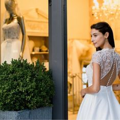 """Mirror Mirror Bridal Boutique on Instagram: """"New season  It's time to book in and find 'the one' . . . . 📸 @voyteckphoto from our 'Evening of Bridal Inspiration'  Dress from our Nicole…"""" Mirror Mirror Bridal, Finding The One, Bridal Boutique, White Dress, Flower Girl Dresses, Seasons, Wedding Dresses, Book, Inspiration"""