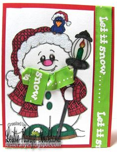 Flurry the snowman from www.digitaldelightsbyloubyloo.com