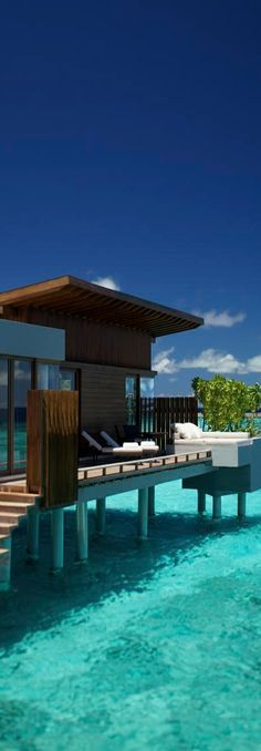 ☼ Life by the sea house above water Park Hyatt Water Villa...Maldives