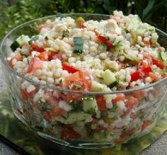 Recipe of the Day: Israeli Couscous Salad
