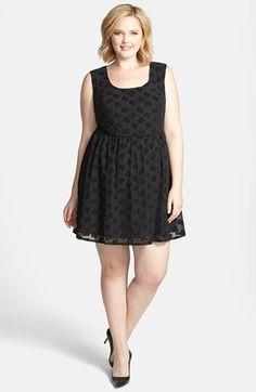 1e12986e5ff Jessica Simpson  Sienne  Sateen Dress (Plus Size)