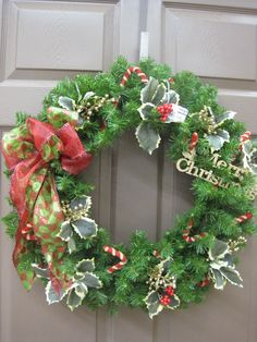 Christmas Wreath. From the Traditions Theme at Your Christmas Shop at Stauffers of Kissel Hill Garden Centers. (http://www.skh.com/home-garden/departments-2/the-christmas-shop/)