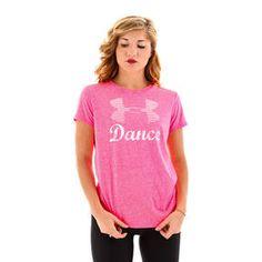 Pink Under Armour Dance T-Shirt