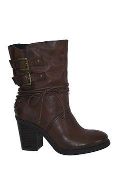 Adira Buckle Boot on HauteLook