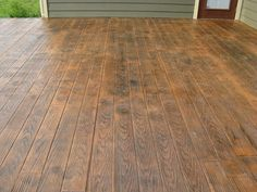 stamped concrete to look like hardwood - Google Search
