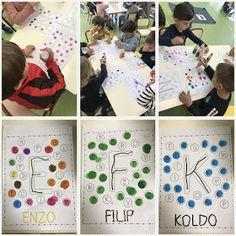 3 Year Old Activities, Name Activities, Preschool Names, 3 Year Olds, Early Childhood Education, Nom Nom, Kindergarten, Homeschool, Dena