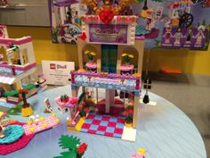The Lego Friends line has been a hit with little girls everywhere, and in August, the signature Heartlake line will expand to include the 1,120-piece shopping mall ($110). Photo: Rebecca Gruber