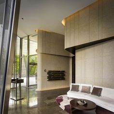 After you get through the lobby, the hallways should be performed about every decades. Most lobbies are furnished with braised leather and pricey items that make a bright and lovely space. Lobby Interior, Apartment Interior Design, Luxury Interior, Modern Interior, Interior Architecture, Lobby Design, Design Hotel, Feature Wall Design, Spacious Living Room
