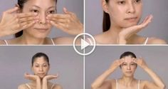 This Japanese facial massage will make you look 10 years younger! This Japanese facial massage will make you look 10 years younger! Yoga Facial, Face Yoga, Facial Hair, Facial Masks, Younger Skin, Look Younger, Massage Facial Japonais, Anti Aging, Face Exercises