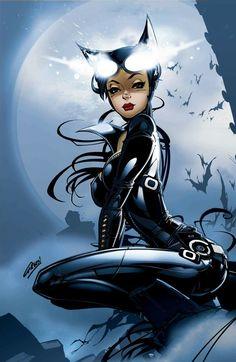 Catwoman Cosplay print by Paul Green Grimm Fairy tales artist 200 Batwoman, Batgirl, Batman Und Catwoman, Catwoman Cosplay, Gotham, Dc Comics Characters, Female Characters, Comic Books Art, Comic Art