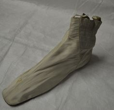 Elastic sided ladies boots, mid 19th century. Collection: Royal Pump Room/Harrogate Museums.