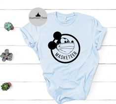 Excited to share this item from my #etsy shop: Masketeer shirt, Masked Mickey, Disney Covid, Disney corona,  Disney, Shirt, quarantine Disney, Disney Shirt, Magic Kingdom, Disney T Shirt Matching Disney Shirts, Disney Disney, Magic Kingdom, Cricut, Etsy Shop, Unisex, Tees, Mens Tops, How To Wear