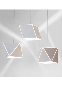 The new TORO NAGASHI lanterns from Rakumba designed by Liam Mugavin and constructed from Echopanel - made from recycled plastic bottles and noted for exceptional acoustic dampening qualities www.ladgroup.com.au