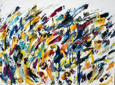 Abstract for SALE - Vague jaune 30x40 #abstract #art #painting Julien Aubé Abstract Art, Creations, Painting, Toile, Artist, Painting Art, Paintings, Painted Canvas, Drawings