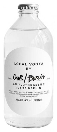 our/berlin local vodka