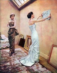 1950s Evening Dresses