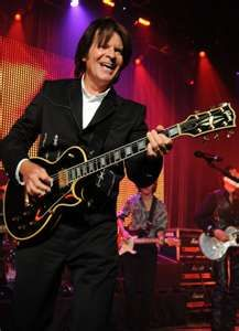 To finally catch John Fogerty in concert, we are never in the same place at the same time! Music Is Life, My Music, Creedence Clearwater Revival, Les Paul Custom, Black Sabbath, Bruce Springsteen, My Favorite Music, The Magicians, Comedians