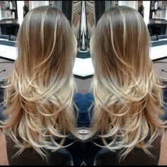 """""""#ombre #hair #hairstyle """""""