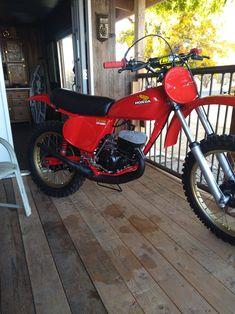 Mx Bikes, Motocross Bikes, Vintage Motocross, Dirt Bikes, Honda Motors, Hay Day, Japanese Motorcycle, Honda Motorcycles, Honda Cr