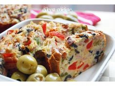 Cake appetizer - 1 large image Baked Potato, Macaroni And Cheese, Cake Recipes, Appetizers, Cooking Recipes, Vegetables, Breakfast, Ethnic Recipes, Food Cakes