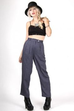 Pin Striped Trousers