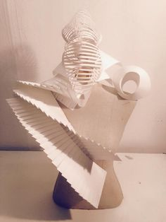 3d paper work inspired by Diana Gamboa